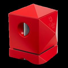 Red Colibri Quasar Two-in-One Desktop Cigar Cutter
